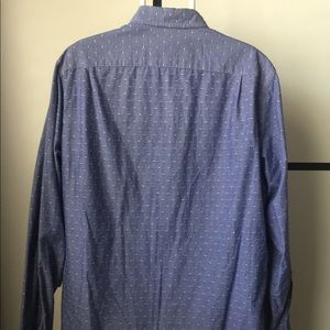 J. Crew Shirts - Chambray shirt in blue dot